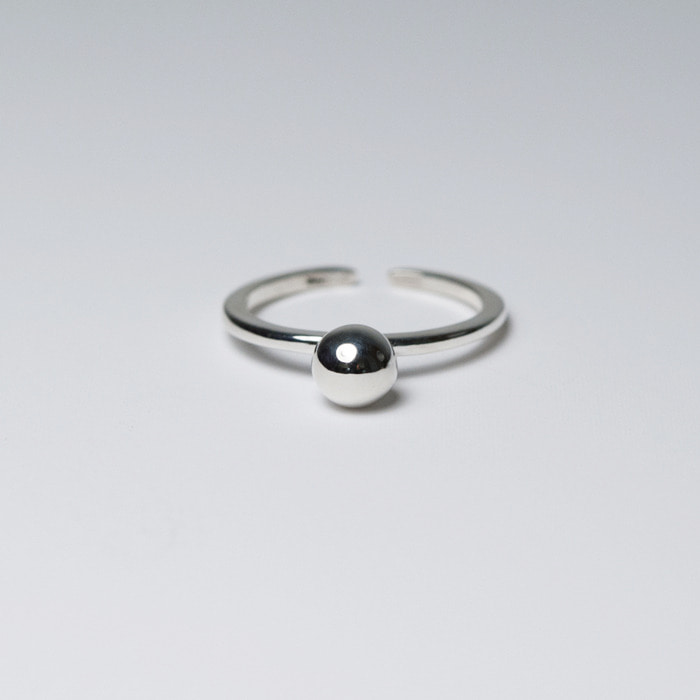 Silver Ball ring