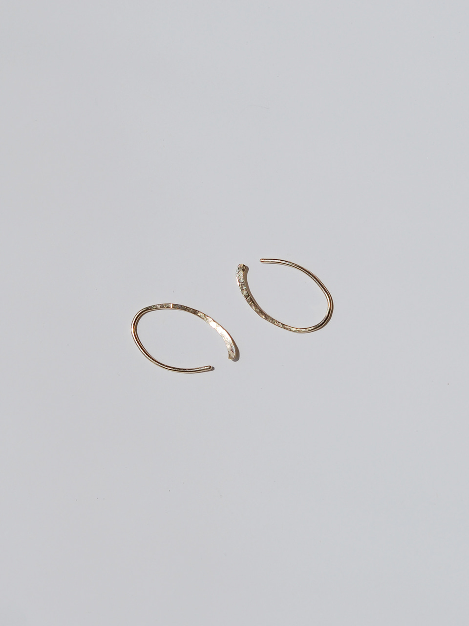 14k gold Hook earrings 후크 14k 귀걸이
